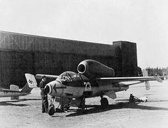 Heinkel He -162 in France 1945