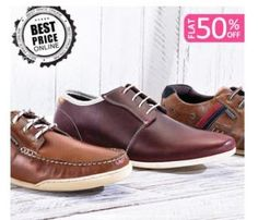 Online Shopping Deal, Online Deal India, Free Product: Flat 50% off + 25% off on Redtape Footwear @ Fashi...