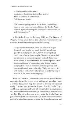 Peter Selg - Lord's Prayer and Rudolf Steiner - Floris Books