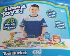 Child's BLUE Tool Bucket -- 70 Pieces *** You can find more details by visiting the image link.