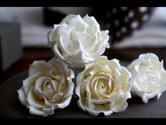 Collection of tutorials: how to make sugarpaste or fondant flowers (1) – Martensitak