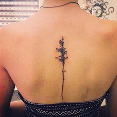 tree tattoos on back-4