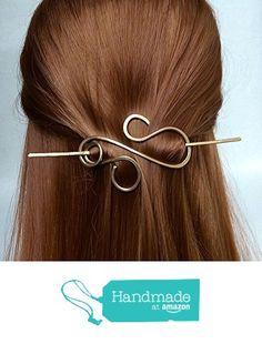 Brass Hair Barrette Hair Clip Hair Stick Gift For Her from wandahandmade https://www.amazon.com/dp/B01GP9DKCE/ref=hnd_sw_r_pi_dp_dUnxxbWQYJ77A #handmadeatamazon
