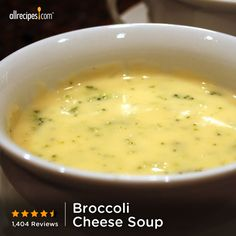 """This is a great, very flavorful soup. To make it a little fancier, add 1 cup sliced mushrooms and 1 cup white wine with the onions."" —Karin Christian. Repin Broccoli Cheese Soup for a Thanksgiving side. http://allrecipes.com/recipe/Broccoli-Cheese-Soup/Detail.aspx?lnkid=7171"