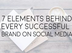While each brand will have a different approach, there are some core social media marketing variables that remain important across all businesses.