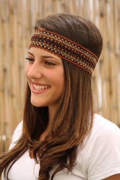 Ethnic Headband Elastic Headband Women Hair by TopStyle1 on Etsy be2d8b0fa4a