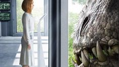 Jurassic World: poster con l'Indominus Rex e nuovo trailer online lunedì
