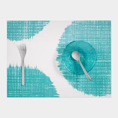 Brushed Dot Placemat // These would look great in the dining nook!