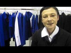 Fashion Week 2013: Die Designerin Anett Röstel bei der Modemesse 'Premium' in Berlin