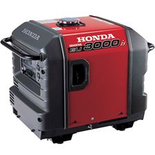 This 2800 watt inverter provides super-quiet power capable of running many types of small appliances. This machine is powerful enough to power most 13,500 BTU RV air conditioners.     This inverter also offers the benefits of Honda's Eco-Throttle and can run up to 20 hours on a single tank of gas depending on the load! This is the smallest inverter that Honda offers with electric start, probably not necessary at this wattage, but a nice bonus and peace of mind.