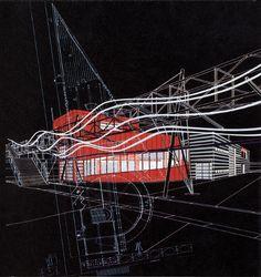 Bernard Tschumi. A+U 216 September 1988: 54
