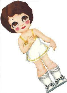 Paper Dolls: Little Tots