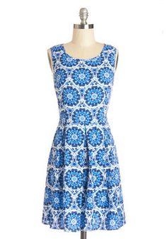 Play It Optical Dress, #ModCloth