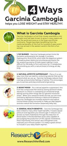 Garcinia Cambogia can help you lose weight and here's how.  http://www.researchverified.com/garciniacambogia/facts.php