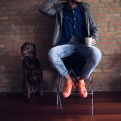 http://chicerman.com  billy-george:  Relaxed  #streetstyleformen