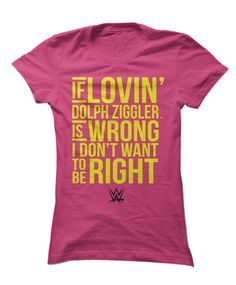 Dolph Ziggler - If Lovin' Is Wrong Don't Want To Be Right