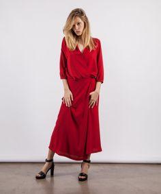 Abito rosso SoAllure  disponibile su www.newtonstore.it