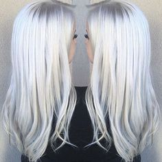 I LOVE WHITE HAIR SOOOOOOOOOOOOOOOOOOO MUCH
