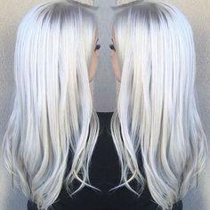 I LOVE WHITE HAIR SOOOOOOOOOOOOOOOOOOO MUCH