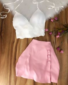 Dress Up Outfits, Casual Skirt Outfits, Cute Comfy Outfits, Crop Top Outfits, Cute Summer Outfits, Stylish Outfits, Cool Outfits, Dresses, Teen Fashion Outfits
