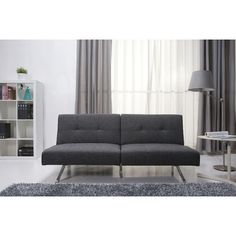 Gold Sparrow Victorville Foldable Futon Sofa Bed | AllModern