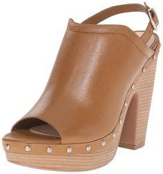 Jessica Simpson Women's Daine Platform Sandal, Dakota Tan, 8 M US. Stacked heel.