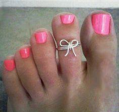 Lindo color de uñas
