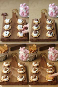 Galletas con malvaviscos y chocolate:   20 Recetas deliciosas que puedes hacer con galletas María