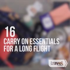 16 Must-Have Essentials For Your Carry-On Luggage