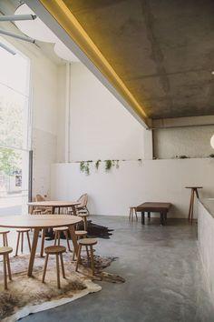 Franklin restaurant, Hobart Interior Design Inspiration, Home Interior Design, Interior Architecture, Retail Design, Restaurant Design, Living Spaces, Sweet Home, House Design, Flower Cafe