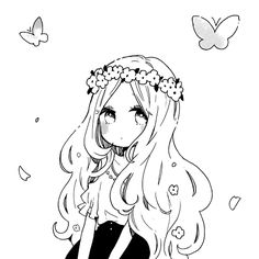 anime, anime girl, art, cute, drawing, forever <3, girl, kawaii, love, lovely, manga, manga girl, shoujo