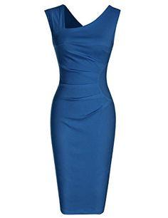 Women's Retro Style Sleeveless Slim Business Pencil Dress Shop Now 1950s Style, Retro Style, Plus Size Maxi Dresses, Dresses For Work, Lace Dresses, Short Dresses, Black Pencil Dress, Dress Black, Very Short Dress