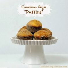 Doughnuts and Beignets on Pinterest | Mini Donuts, Baked Apples and ...