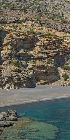 Beach in Kapetaniana area, Crete, Greece #kitsakis
