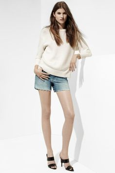 Soften Your Spring Style: J BRAND's 1288 Carly Short in Reflection.