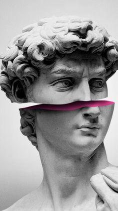 vaporwave wallpers October 21 2019 at Sculpture Projects, Sculpture Art, Sculpture Ideas, Roman Sculpture, Metal Sculptures, Art Actuel, Arte Van Gogh, Images Esthétiques, Collage Artwork