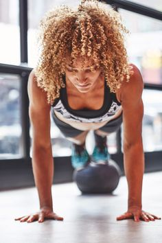 Challenging push-up variations to strengthen and tone your upper body while giving you a total-body workout.