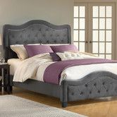 Trieste Bed in Pewter