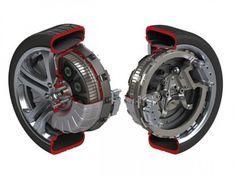 Protean Electric : une roue à moteur électrique embarqué