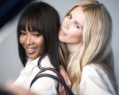 Naomi Campbell, Claudia Schiffer, and Tommy Hilfiger Push Breast Cancer Awareness Beyond Pink