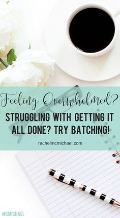 Time Management Strategy: Batching