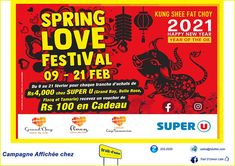 Super U - Spring Love Festival | Adverts - Latest Rs4, Tamarin, Us Supreme Court, Email Marketing, Spring, Entertainment, Entertaining