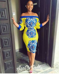 Ankara Styles Inspiration: Check Out These Magnificent Styles African Attire, African Wear, African Women, African Dress, African Beauty, Plus Size Fashion Dresses, Latest African Fashion Dresses, African Print Fashion, Ankara Short Gown Styles