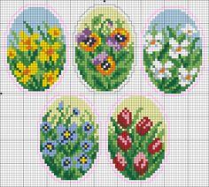 Схемки для яиц-2Мой любимый бисер| Мой любимый бисер