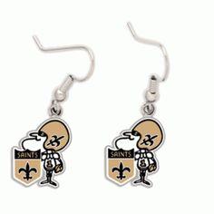 Saints Sir Saint Earrings #Saints #NOLA #Jewelry
