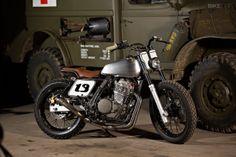 NX650 custom motorcycle