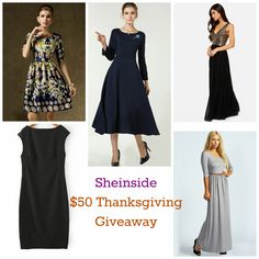 Sheinside $50 Thanksgiving Giveaway