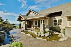 Craftsman House Plan - Pacifica 30-683 - Front Elevation  Love this!!! ~ Rustey