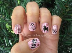 Poodle - Nail Art Gallery by NAILS Magazine