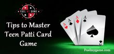 We know that playing Teen Patti online is not a cake walk; you need to think and strategize well to win a particular hand. Here are some Tips to Master Online Teen Patti Card Game. Online Teen Patti players can Buy Ultimate Teen Patti Chips at Fuel My Gam